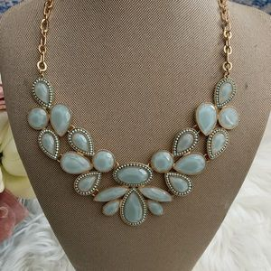 Francesca's Collections Jewelry - Blue Large Jewel Necklace